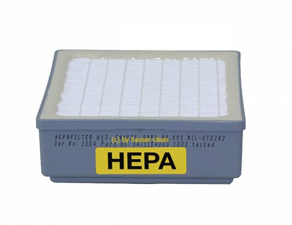 HEPA-Filter GD 5 Back Nilfisk